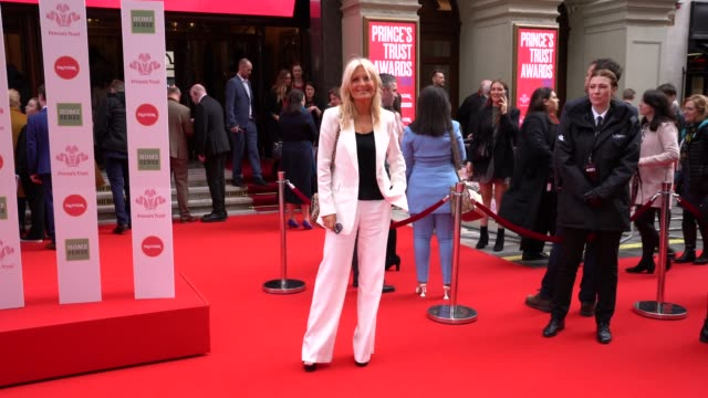 gaby roslin at the princes trust and tkmaxx & homesense awards at london palladium on march 11, 2020 in london, england. - gaby roslin stock videos & royalty-free footage