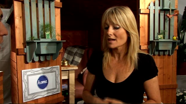 gaby roslin interview; england: london: int gaby roslin interview sot **intermittent sound loss** - talking about her tv show 'celebrity fantasy... - gaby roslin stock videos & royalty-free footage