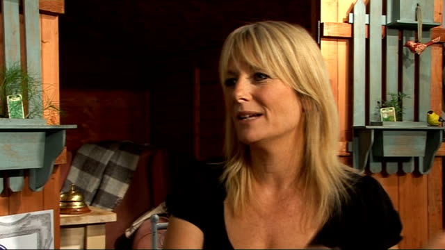 gaby roslin interview; roslin interview sot **intermittent sound loss** - on britain's got talent / on susan boyle and diversity from this week's... - gaby roslin stock videos & royalty-free footage