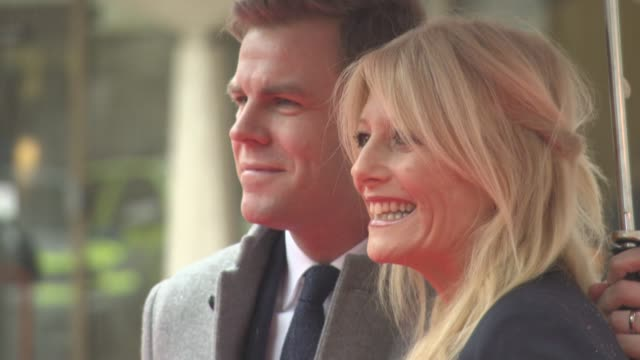 gaby roslin, matt barbet at the sun military awards lunch on january 22, 2016 in london, england. - gaby roslin stock videos & royalty-free footage