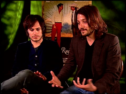 Gael Garc_a Bernal and Diego Luna on their relationship at the 'Rudo y Cursi' Junket at Los Angeles CA