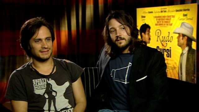 Gael Garcia Bernal and Diego Luna interview SOT On not being good at sport