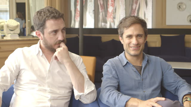 INTERVIEW Gael Garcia Bernal on his opinions on poets and the importance of the arts and story telling in a postwar 20th century at 'Neruda'...
