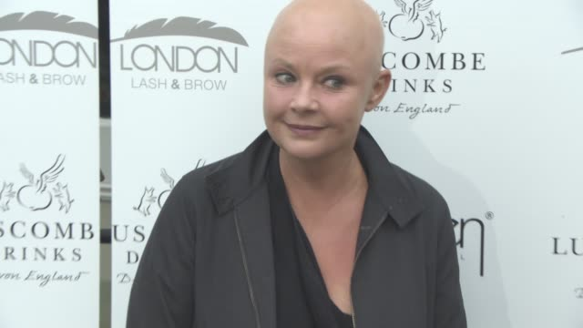 stockvideo's en b-roll-footage met gail porter at an evening with deborah mitchell press event on june 15 2016 in london england - gail porter