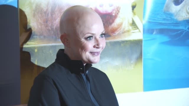 stockvideo's en b-roll-footage met gail porter at daily mirror and rspca animal hero awards at 8 northumberland avenue on october 21 2015 in london england - gail porter