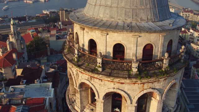 galata tower 11 - istanbul stock videos and b-roll footage