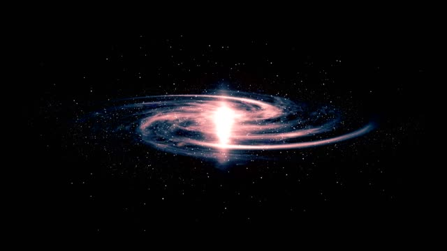 3D Galaxy animation