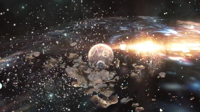 銀河 hd - 流星点の映像素材/bロール