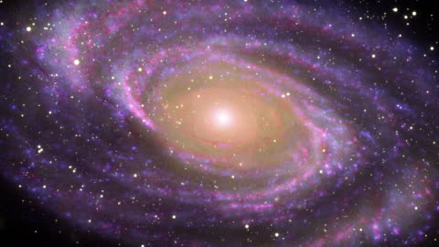 galaxy in deep space - spiral stock videos & royalty-free footage