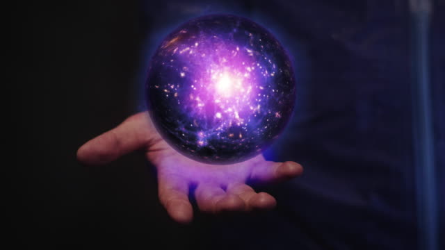 galaxy in hand - time machine stock videos & royalty-free footage