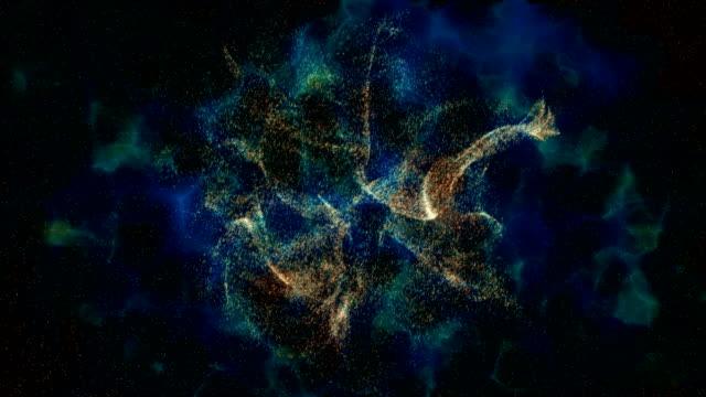 stockvideo's en b-roll-footage met galaxy, informatie concept - hope
