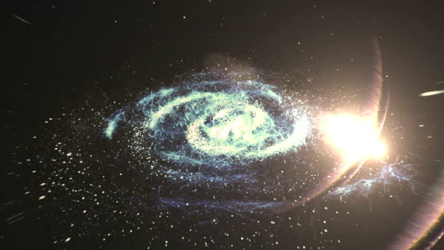 galaxy, nebula space background. - nebula stock videos & royalty-free footage