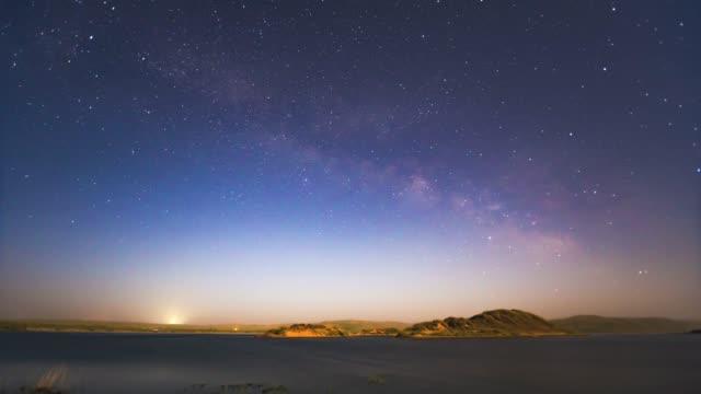 vidéos et rushes de galaxie-time-lapse vidéo - télévision haute définition