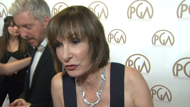 INTERVIEW Gale Ann Hurd on being the Selznick Achievement Award honoree at 26th Annual Producers Guild Awards in Los Angeles CA