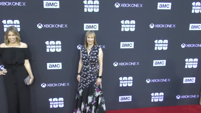 Gale Anne Hurd at AMC's The Walking Dead 100th Episode Season 8 Special Premiere Screening at The Greek Theatre on October 22 2017 in Los Angeles...