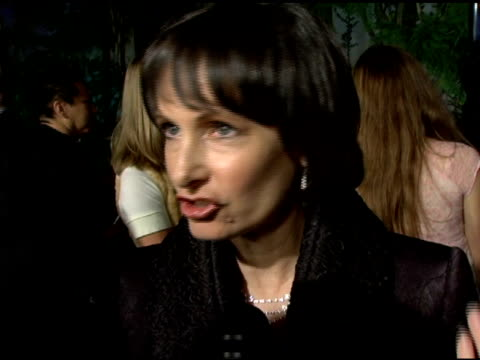 vídeos y material grabado en eventos de stock de gale anne hurd on what she is most proud of regarding this project, and something about charlize theron that surprised her at the 'aeon flux' los... - cinerama dome hollywood