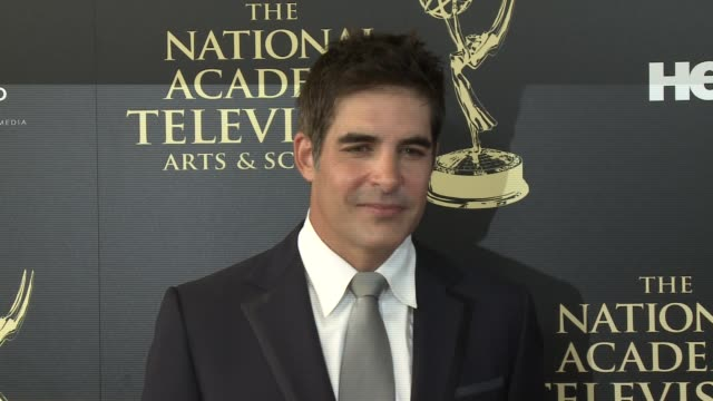 galen gering at the 2014 daytime emmy awards at the beverly hilton hotel on june 22, 2014 in beverly hills, california. - the beverly hilton hotel点の映像素材/bロール