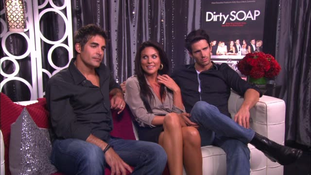 Galen Gering Nadia Bjorlin and Brandon Beemer on their life stories in thirty seconds