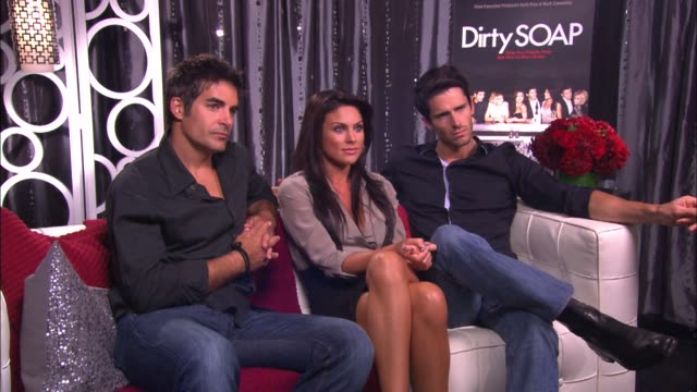 Galen Gering Nadia Bjorlin and Brandon Beemer on what's is going to happen next