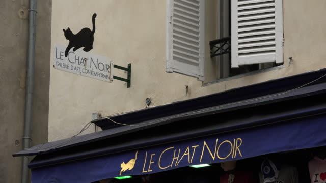 Galerie Le Chat Noir, Montmartre, Paris, France, Europe
