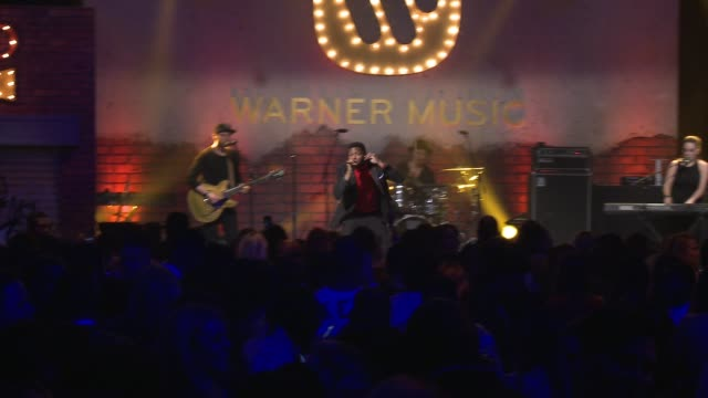 gallant at warner music group grammy party in los angeles, ca 2/12/17 - cavalleria video stock e b–roll