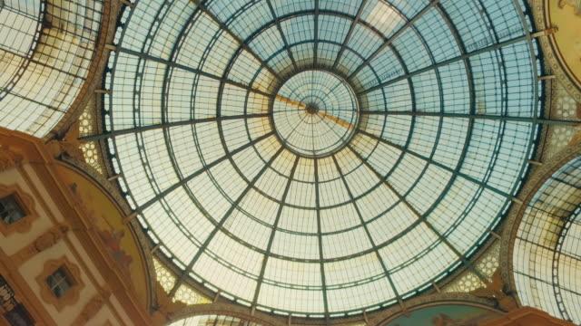 galleria vittorio emanuele ii, milano italy - milan stock videos & royalty-free footage
