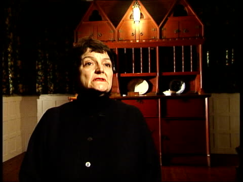 galleries and museums: william morris house bought by national trust; int linda parry interview sot - was first modern house in western europe/ it... - national trust video stock e b–roll