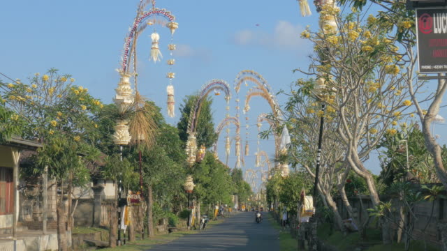 Galungan in Ubud, Bali, Indonesia
