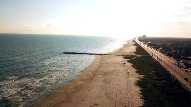 galveston beach - southwest usa stock-videos und b-roll-filmmaterial
