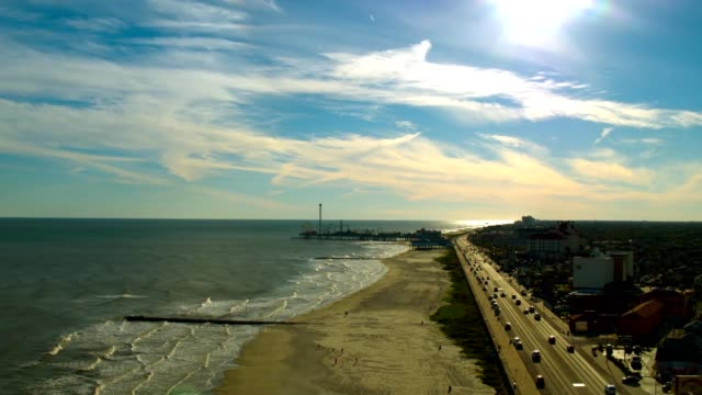 galveston texas - gulf of mexico stock videos and b-roll footage