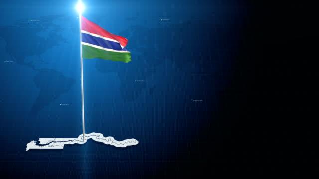 Gambia 4k flag