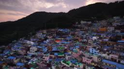 Gamcheon Culture Village,Busan in South Korea