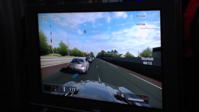 Game at the MercedesBenz Exclusive Preview Of The 2011 SLS AMG In Grand Turismo 5 at Los Angeles CA