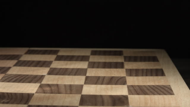 game of chess: checkmate - king down - chess piece stock videos & royalty-free footage
