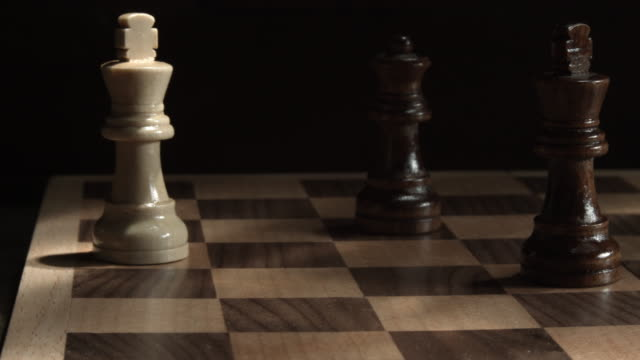 game of chess - checkmate - chess piece stock videos & royalty-free footage
