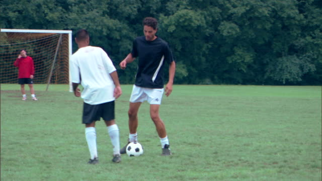game of soccer - see other clips from this shoot 1280 stock videos & royalty-free footage