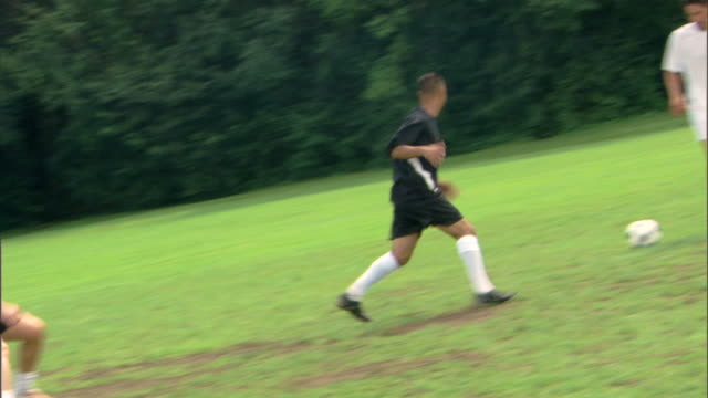 a game of soccer - see other clips from this shoot 1280 stock videos & royalty-free footage