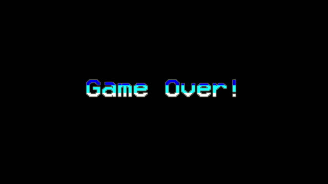 game over - video game menu - binary code stock videos & royalty-free footage