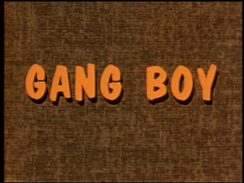 gang boy - 1 of 25 - 1950 1959 stock videos & royalty-free footage