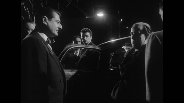 1948 gangster boss chases and catches some robbers, while other thieves successfully escape - murder stock videos & royalty-free footage