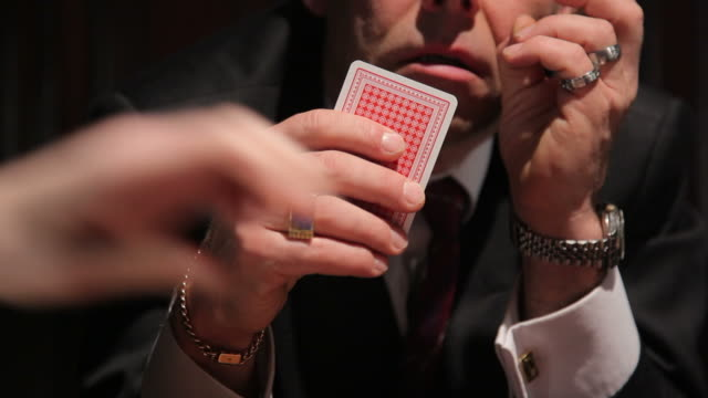gangster card game - organized crime stock videos and b-roll footage