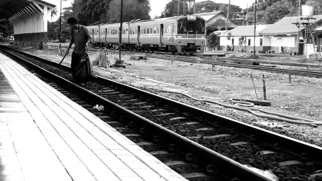 Garbage Collection on railway
