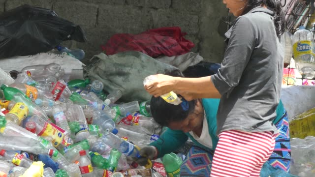garbage dump in manila philippines - rubbish dump stock videos & royalty-free footage
