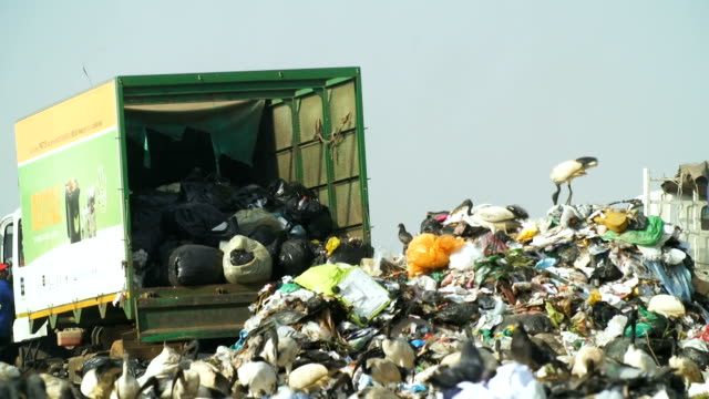 Garbage dump, Johannesburg, South Africa