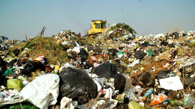 garbage dump, johannesburg, south africa - rubbish dump stock videos & royalty-free footage