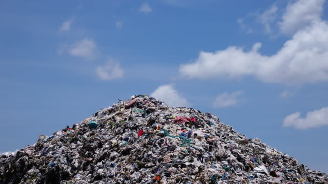 garbage dump - time lapse 4k - landfill stock videos & royalty-free footage