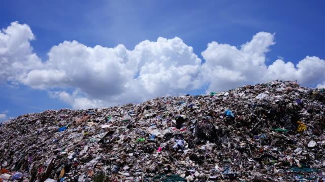 Garbage Dump - Time Lapse 4k