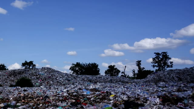 Garbage Dump - Time Lapse Zoom Out