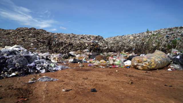 garbage dump - landfill stock videos & royalty-free footage