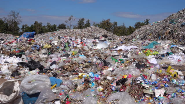 Garbage Dump With Super Zoom Effect